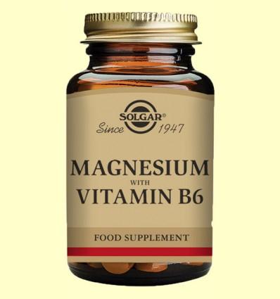 Magnesio con Vitamina B6 - Solgar - 250 comprimidos