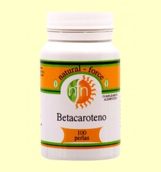 Betacaroteno / Pro-Vitamina A - Nutri Force - 100 Perlas