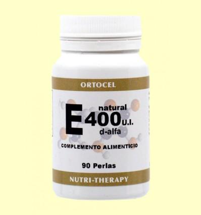 Vitamina E Natural - Ortocel - 90 perlas