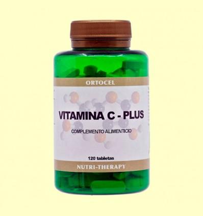 Vitamina C Plus + Citroflavonoides - Ortocel - 120 Tabletas