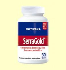 Serra Gold - Enzymedica - 30 Cápsulas