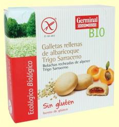 Galletas con Crema de Albaricoque - Germinal - 200 g