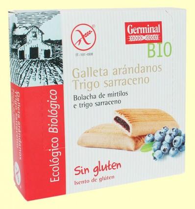 Galletas de Trigo Sarraceno con Arándanos - Germinal - 200 g