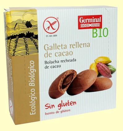 Galletas con Crema de Cacao - Germinal - 200 gramos