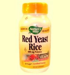 Red Yeast Rice - Nature's way - 60 cápsulas