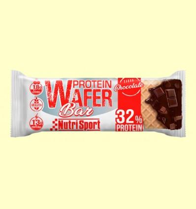 Barrita Protein Wafer Bar de Chocolate - NutriSport - 15 barritas