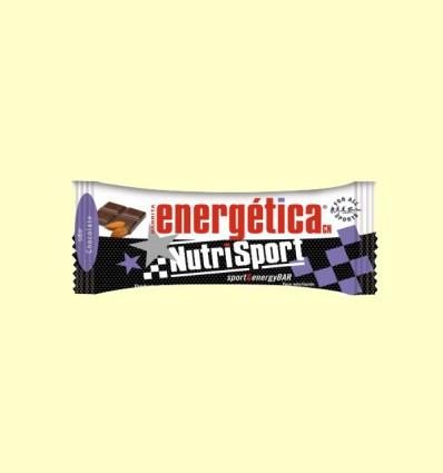 Barrita Energética Chocolate Almendras - NutriSport - 44 gramos