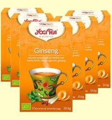Ginseng Bio - Yogi Tea - Pack 6 x 17 infusiones