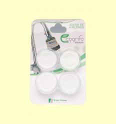 Filtros para Ecogrifo y Ecoducha - IR35 - Grupo Irisana - 4 filtros