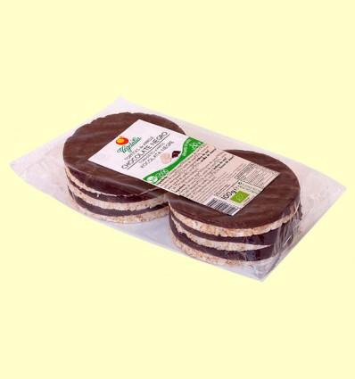 Tortitas de Arroz y Chocolate Negro Bio - Vegetalia - 100 gramos