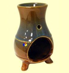 Quemador Redondo de una pieza de cerámica para aceites esenciales - Signes Grimalt