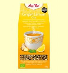 Jengibre y Limón Chai Bio - Yogi Tea - 90 gramos