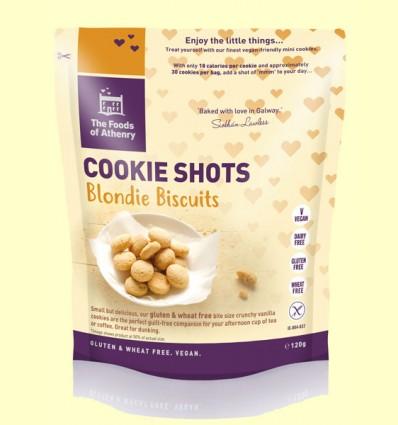 Mini Cookies Blondie Vainilla Sin Gluten - The Foods of Athenry - 120 gramos