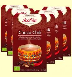 Choco Chili Bio - Yogi Tea - Pack 6 x 17 infusiones