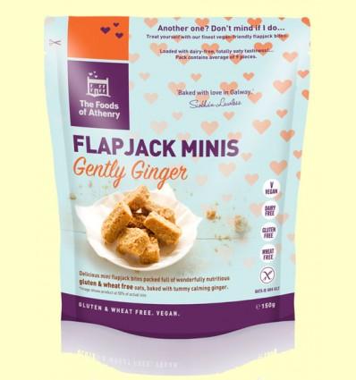 Flapjack Mini Cookies de Avena con Jengibre - The Foods of Athenry - 150 gramos