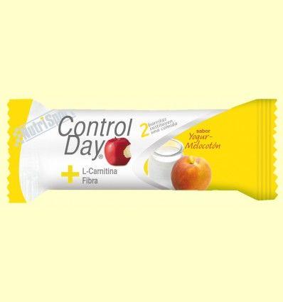 Barrita Control Day - Yogur Melocotón - NutriSport - 44 gramos *