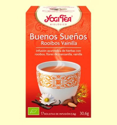 Buenas Noches Rooibos Vainilla Bio - Yogi Tea - 17 infusiones