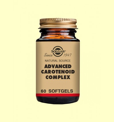 Carotenoides Complex Avanzado - Solgar - 60 cápsulas