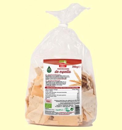 Mini Crackers 100% Espelta Bio - La Finestra sul Cielo - 250 gramos