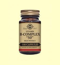 Vitamina B-Complex 50 - Solgar - 100 cápsulas