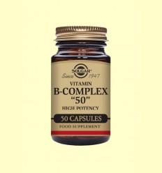 Vitamina B-Complex 50 - Solgar - 50 cápsulas *