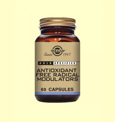 GS Antioxidant Free Radical Modulators - Solgar - 60 cápsulas *