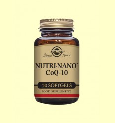 Nutri Nano™ CoQ 10 3.1x - Solgar - 50 cápsulas blandas