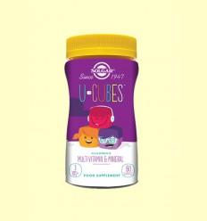 U-Cubes Gominolas Masticables para Niños - Solgar - 60 comprimidos
