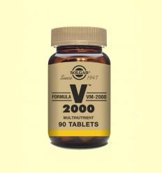 Fórmula VM-2000 - Fórmula Multinutriente - Solgar - 90 comprimidos