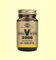 Fórmula VM-2000 - Fórmula Multinutriente - Solgar - 60 comprimidos