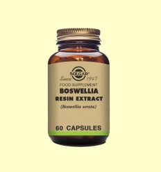 Boswelia extracto de resina - Solgar - 60 cápsulas
