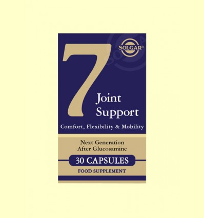 Nº 7 - Joint Support & Comfort - Solgar - 30 cápsulas