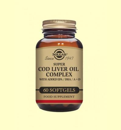 Super Cod Liver Oil Complex - Solgar - 60 cápsulas