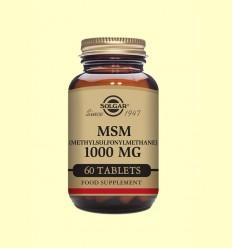 MSM 1000 mg - Solgar - 60 comprimidos