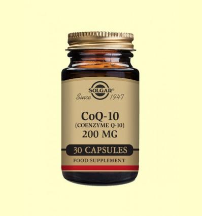 Coenzima Co Q-10 - 200 mg - Solgar - 30 cápsulas