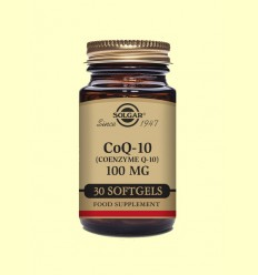 Coenzima Co Q-10 - 100 mg - Solgar - 30 cápsulas