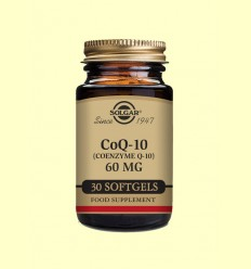 Coenzima Co Q-10 - 60 mg- Solgar - 30 perlas