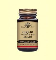 Coenzima Co Q-10 - 60 mg - Solgar - 60 cápsulas
