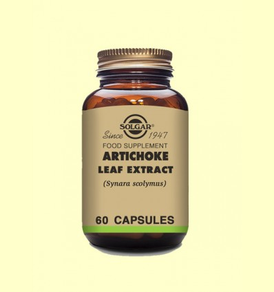Alcachofa - Solgar - 60 cápsulas