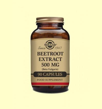 Remolacha Extracto 500 mg - Solgar - 90 cápsulas