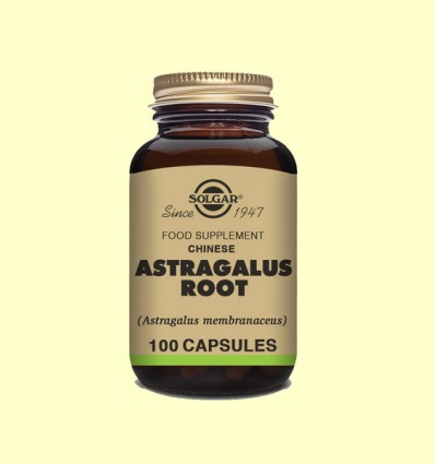 Astrágalus Chino Raíz - Solgar - 100 cápsulas vegetales