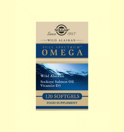 Full Spectrum OMEGA - Solgar - 120 cápsulas de gelatina