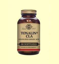 Tonalín CLA - Ácido Linoleico Conjugado - Solgar - 60 cápsulas