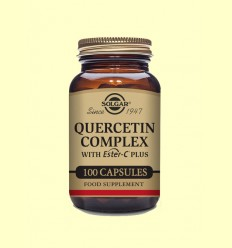 Quercitina Complex - Vitamina C - Solgar - 100 cápsulas vegetales