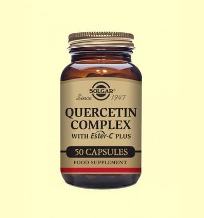 Quercitina Complex - Vitamina C - Solgar - 50 cápsulas vegetales
