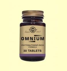Omnium - Multinutriente - Solgar - 30 comprimidos