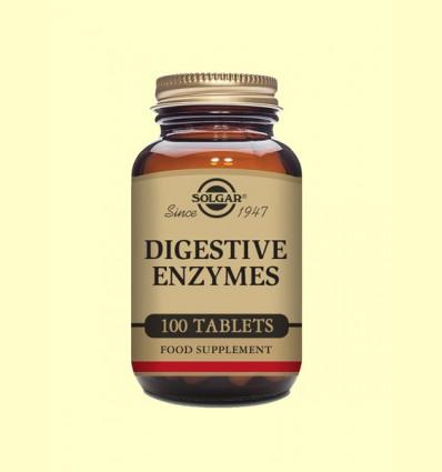 Enzimas Digestivas - Solgar - 100 comprimidos