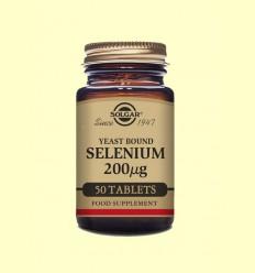 Selenio en Levadura 200 - Solgar - 50 comprimidos