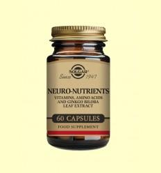 Neuro Nutrientes - Solgar - 60 cápsulas