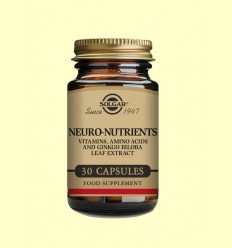 Neuro Nutrientes - Solgar - 30 cápsulas